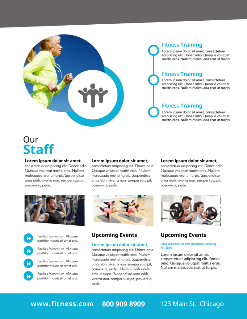 Flexible Gym Flyer Template Preview 3