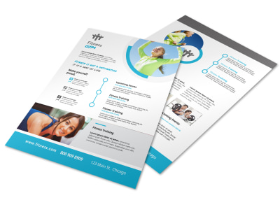 Flexible Gym Flyer Template preview