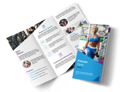 edge fitness gym tri fold brochure template mycreativeshop