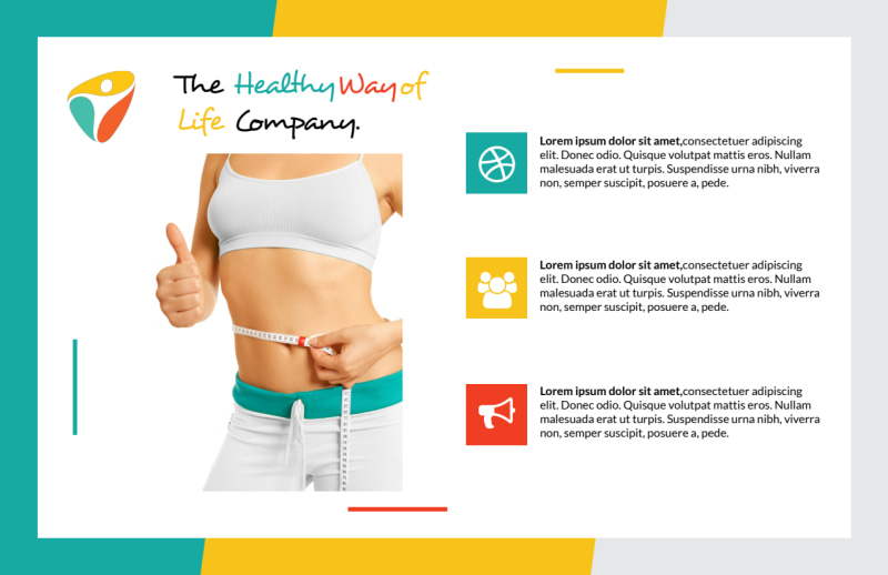 Healthy Gym Postcard Template Preview 3