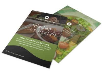 Nutrition Health Flyer Template preview