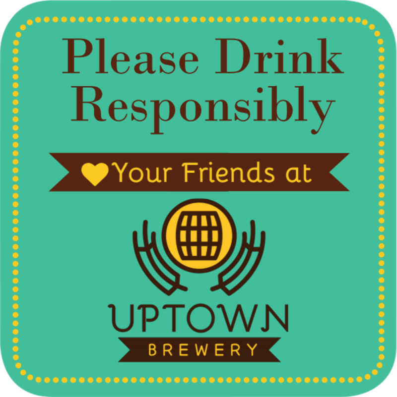 Drink Responsibly Coaster Template Preview 2