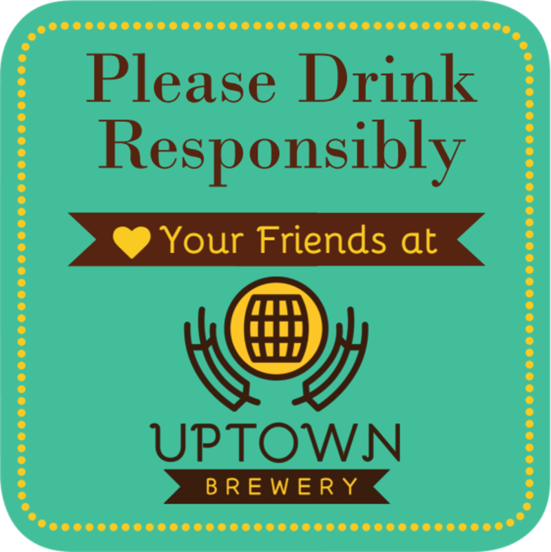Drink Responsibly Coaster Template Preview 3
