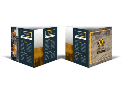 Brewery Table Tent Template