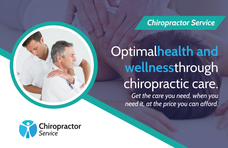 Chiropractic Wellness Postcard Template Preview 2