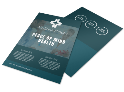 Medical & Health Care Flyers Template Preview
