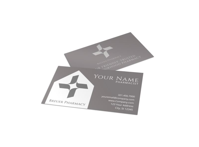 medical  u0026 health care business card templates