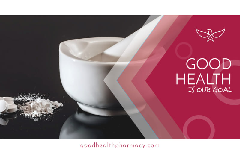Good Health Pharmacy Postcard Template Preview 2