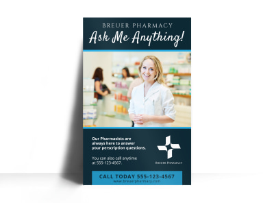 Pharmacy Poster Template preview