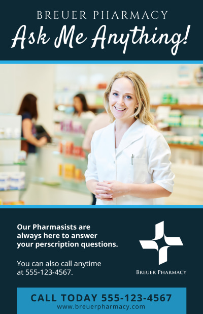 Pharmacy Poster Template Preview 1