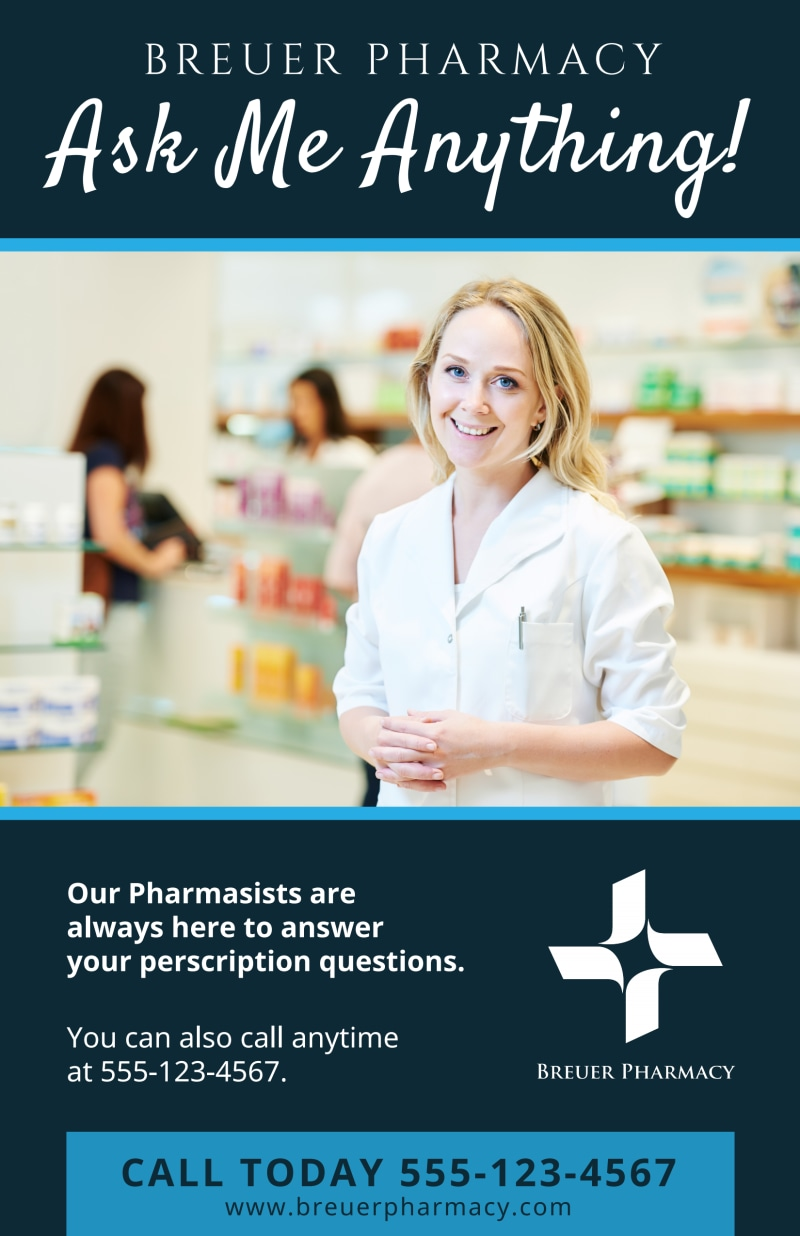 Pharmacy Poster Template Preview 2