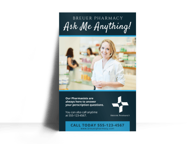 Pharmacy Posters Template Preview
