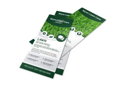 Lawn Grooming Flyer Template