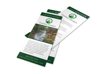 Outdoor Lawn Care Flyer Template preview