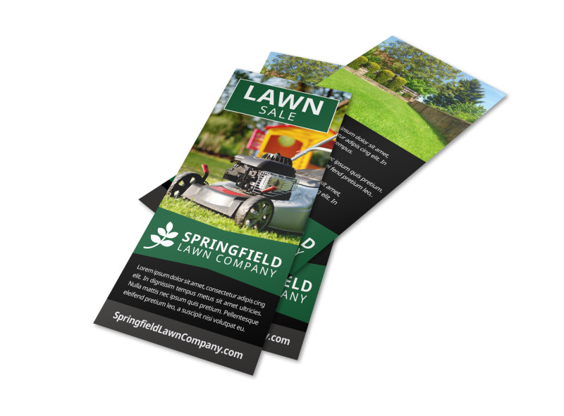 Lawn Company Flyer Template Preview 1