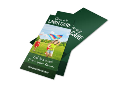 Simple Lawn Care Flyer Template preview