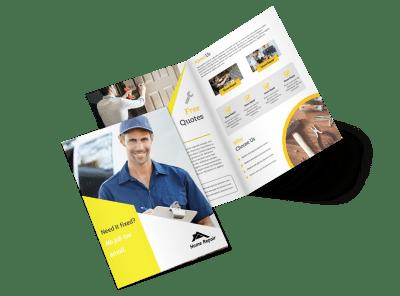 Handyman Brochure Templates Template Preview
