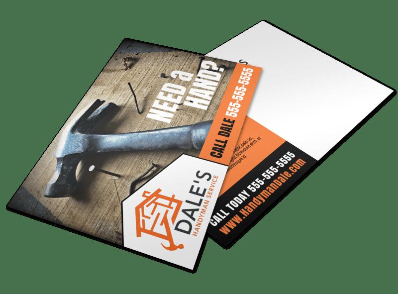 Pro Handyman Postcard Template Preview 1