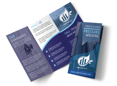Cleaning Brochure Templates Template Preview