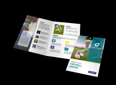 Sports & Wellness Brochure Templates Template Preview