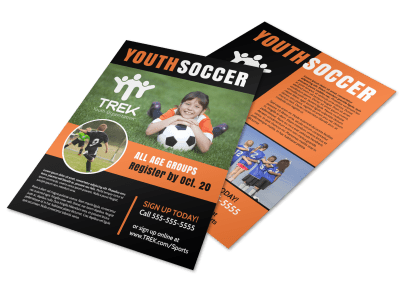 Soccer Flyers Template Preview