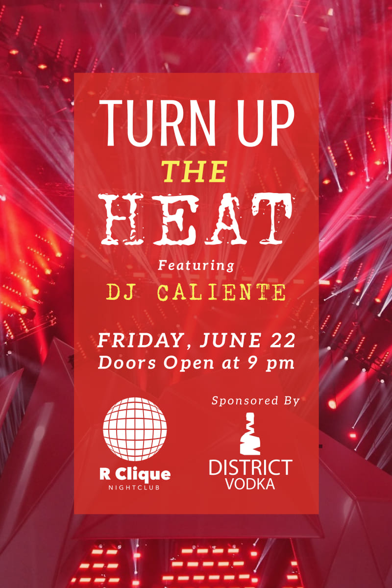 Nightclub Heat Poster Template Preview 2