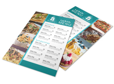 Restaurant Lunch Menu Template