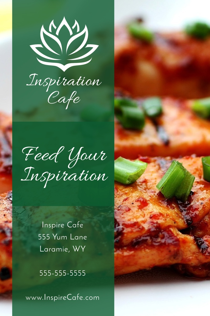 Restaurant Cafe Poster Template Preview 2