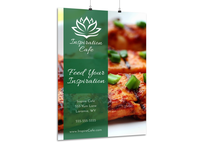 Restaurant Cafe Poster Template Preview 1