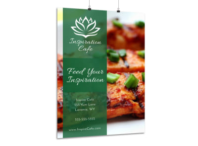 Restaurant Cafe Poster Template