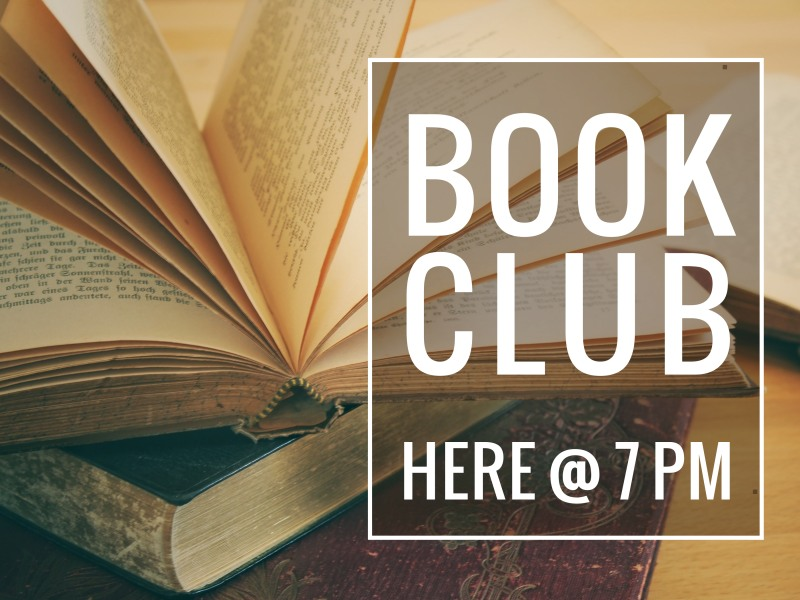 Book Club Yard Sign Template Preview 2