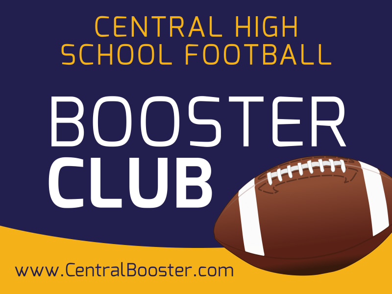Booster Club Football Yard Sign Template Preview 3