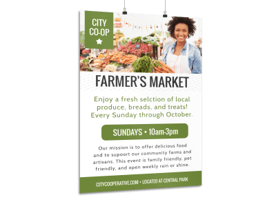 Farmers Market Posters Template Preview