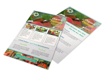 Awesome Farmers Market Flyer Template preview