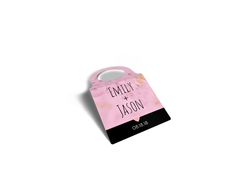 Love Wine Bottle Tag Template