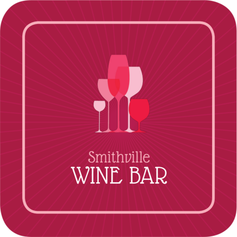 Pink Wine Coaster Template Preview 3