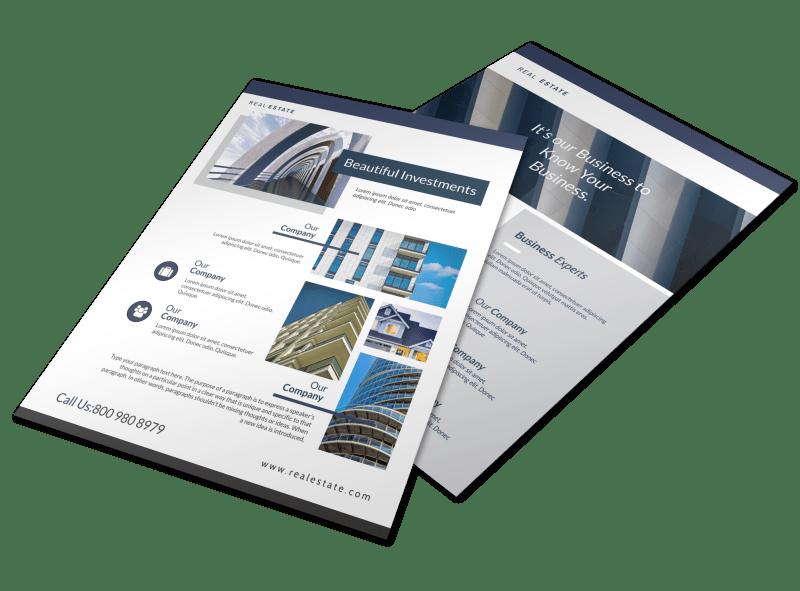 Elite Interior Design Flyer Template Preview 1