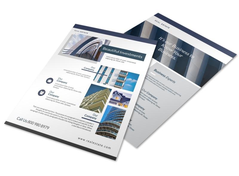 Elite Interior Design Flyer Template Preview 4