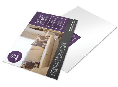 House & Home Postcard Templates Template Preview