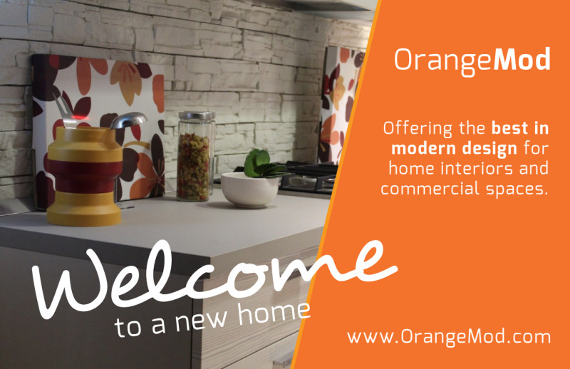 Interior Design Welcome Postcard Template Preview 2