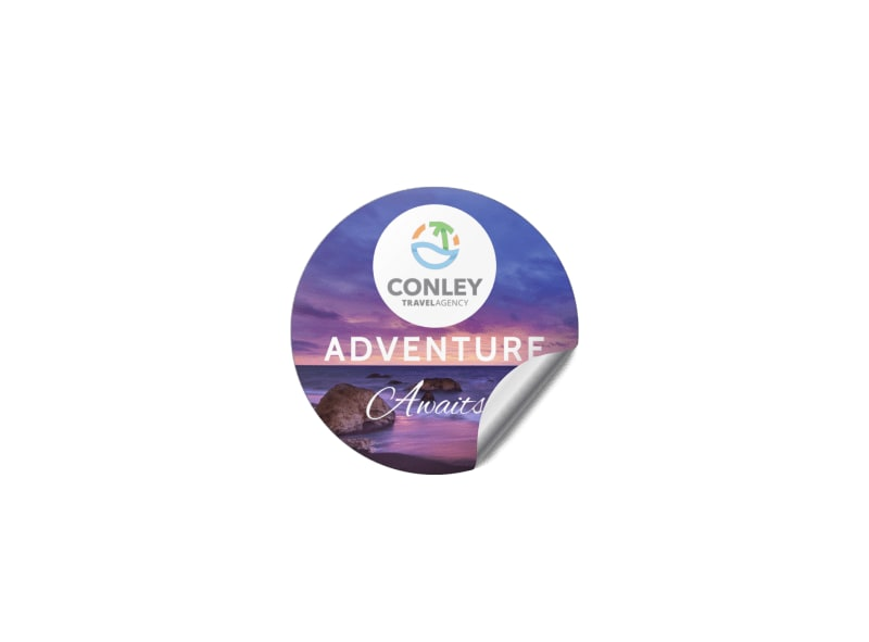 Travel Agency Sticker Template