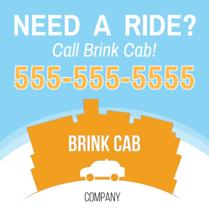 Cab Sticker Template Preview 2