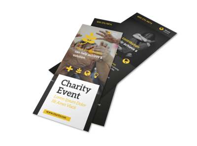 Charity Event Flyer Template preview