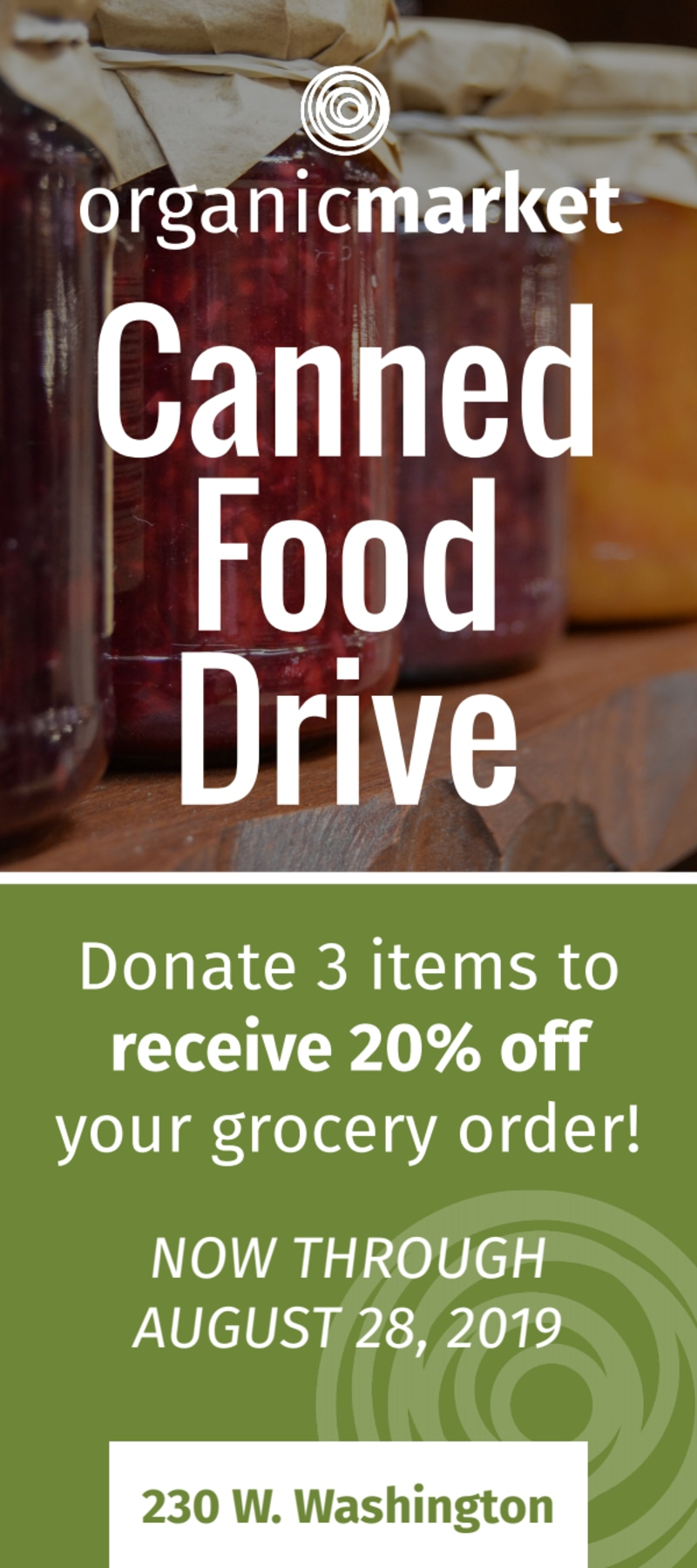 Canned Food Drive Flyer Template Preview 2