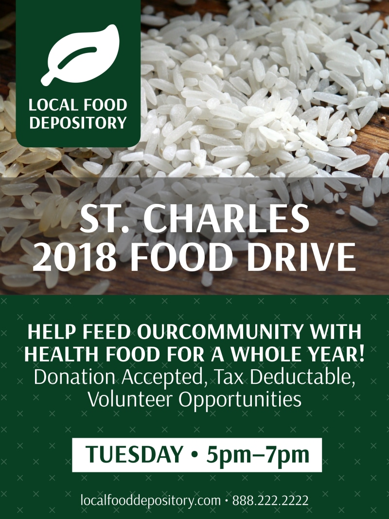 Food Drive Poster Template Preview 2