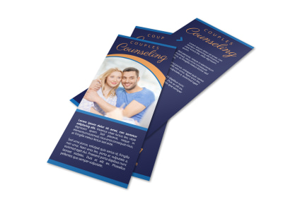 Couples Counseling Flyer Template preview