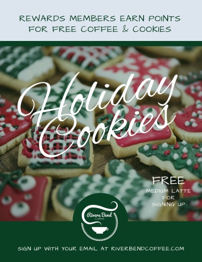 Christmas Holiday Cookie Flyer Template Preview 1