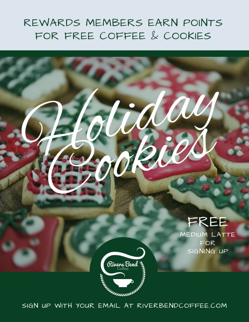 Christmas Holiday Cookie Flyer Template Preview 2