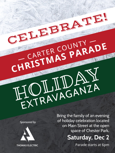 Christmas Parade Poster Template Preview 1