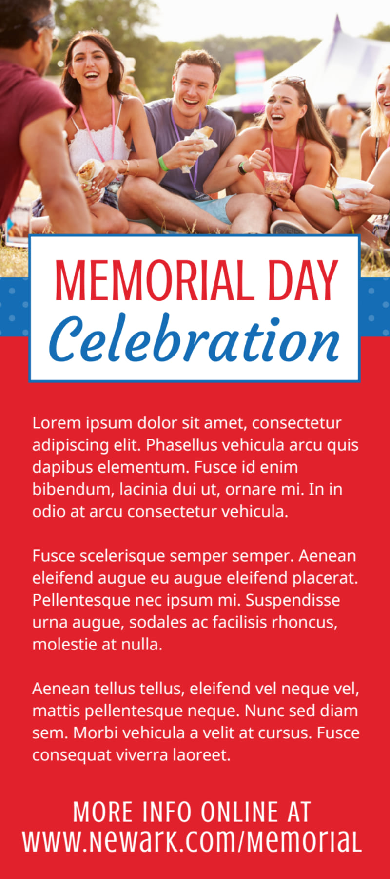 Memorial Day Celebration Flyer Template Preview 3
